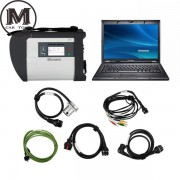 E49 + MB Star C4 SD Connect + SSD  Xentry Diagnostics System Compact 4 Mercedes Diagnosis Multiplexer For Benz Diagnose