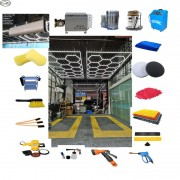 Machines And Tools For Car Washing Workshop