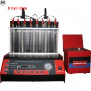 8 cylinders gasoline common rail fuel injector tester and cleaner WT-8F
