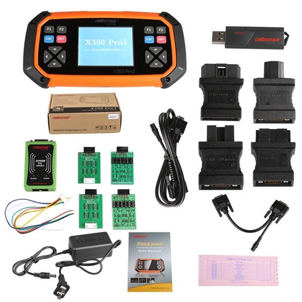 OBDSTAR X300 PRO3 Key Master OBDIIKey Programmer Odometer